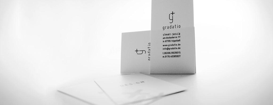 gradatio - Visitenkarten