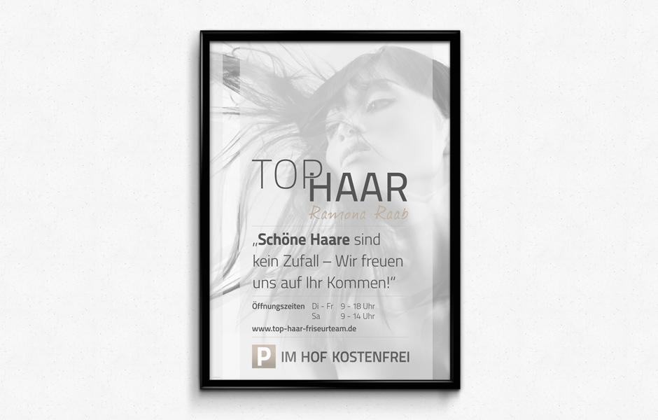 Plakat Top Haar Friseurteam